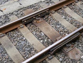 線路の接続部