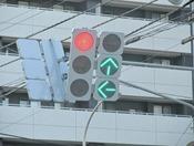 フラット型信号機